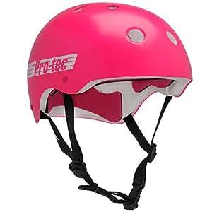 Protec Classic Bike Helmet Small Pink Retro