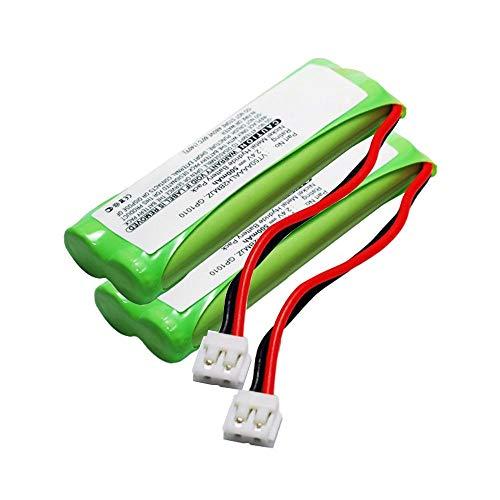 Subtel 2X Batería Compatible con Audioline Monza