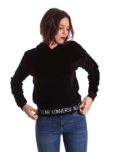 Converse 10006186 Sweatshirt Frauen Schwarz S
