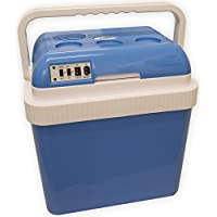 Andes Large 25L 12V/240V Cool Box Insulated Cooler & Heater DC/AC Adaptors CE/GS Certified