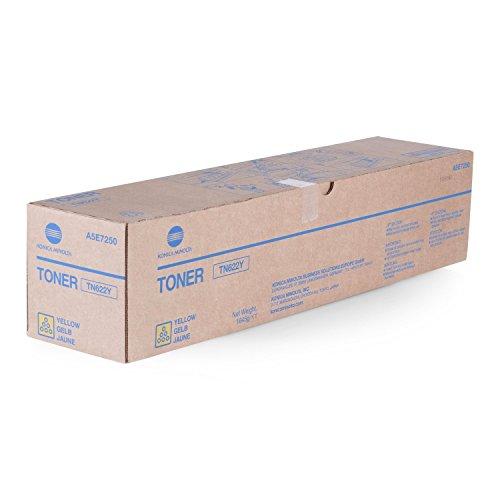 Preisvergleich Produktbild Original Toner Konica Minolta TN622Y A5E7250 - Premium Drucker-Kartusche - Gelb - 95.000 Seiten