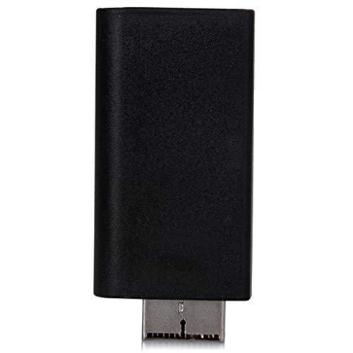 plzlm Ersatz für PS2 HD-Stecker auf Buchse Adapter Audio Video Converter 3,5 mm Audio-Ausgang unterstützt alle PS2 Anzeigemodi