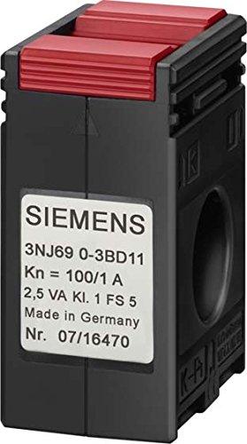 SIEMENS - TRANSFORMADOR INTENSIDAD 100/1A CLASE 0 5 CALIBRADOR CONEXION 14MM