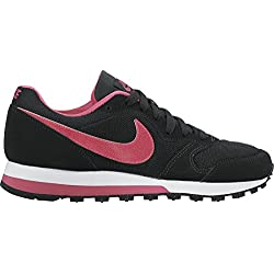 Nike MD Runner 2 (GS) Zapatillas de Running, Niñas, Negro (Blackvivid Pinkwhite 006), 38 EU (5 UK)