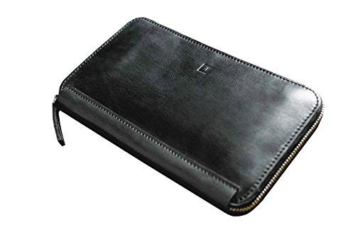 Leather-wallet-for-men-women-unisex-Clutch-wallet-money-clip-Pouch-Bag