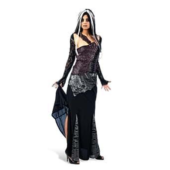 Halloween - Sexy Vampire Gothic Witch Fancy Dress Costume - Women - L