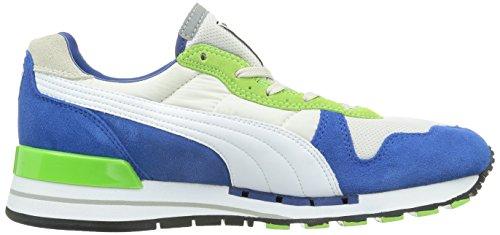 Basket, couleur Blue , marque PUMA, modèle Basket PUMA TX-3 Blue blanc,vert,bleu