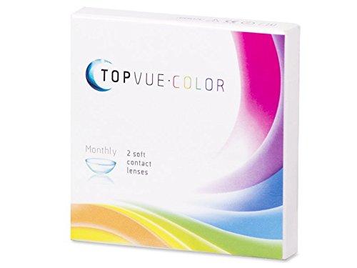 TopVue Color Grün - mit Stärke (2Linsen) / BC 8.6 mm / DIA 14.2 / -2.75 Dioptrien (Crazy 8 Kleidung)