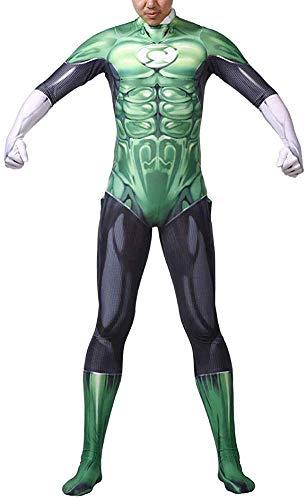 Cartoon-Kleidung Erwachsener Famale Thema-Partei-Filmrequisiten Qualitäts-Material Leistung Leotard Cosplay Lycra Acryl richtige Größe (Color : Green, Size : Adult XXXL 175-180cm)