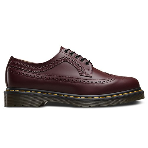 Dr. Martens Mens 3989 5-Eyelet Cherry Leather Shoes 41 EU