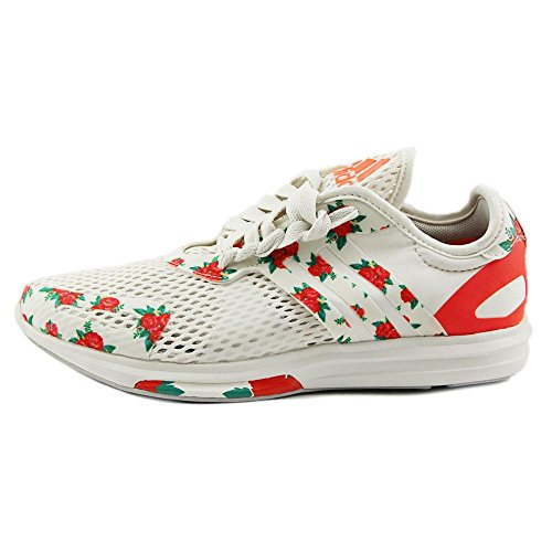 Adidas Yvori Synthétique Baskets Ivoire