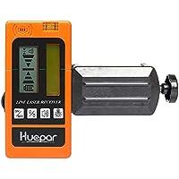 Huepar LR-5RG Détecteur Laser Pour Laser à Impulsions, Numérique Récepteur  de Laser Vert 23eaca96e5a5