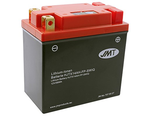 Batterie Lithium JMT HJTX14AH-FP für ARCTIC CAT Panther 440 Baujahr 97-03[ inkl.7.50 EUR Batteriepfand ]