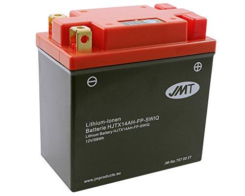 Batterie Lithium JMT HJTX14AH-FP für ARTIC CAT Jag Z Baujahr 94[ inkl.7.50 EUR Batteriepfand ] -