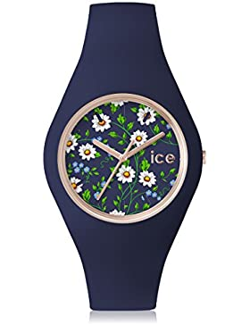 Ice-Watch Flower Damenuhr Analog Quarz mit Silikonarmband – 001592
