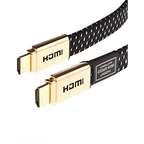 1 m v2,0 Laptone/1,4 A Hi-Speed PRO GOLD Cable HDMI para PS4 Gaming