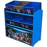 Playmobil Knights 064622 Canasta caja de juguete y de almacenamiento - cajas de juguetes y de almacenamiento (Toy storage basket, Multicolor, Independiente, Imagen, Cartón, MDF, Knights)