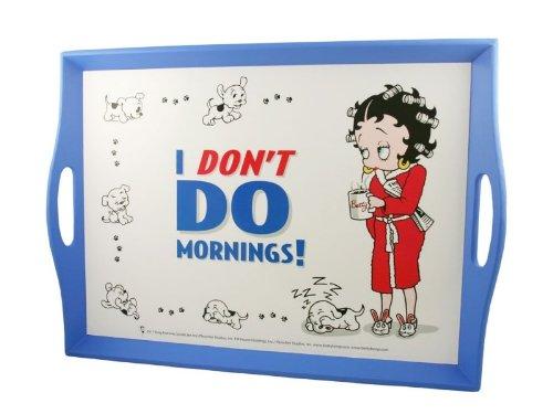 BETTY BOOP I-KNIETABLETT DON'T DO MORNINGS