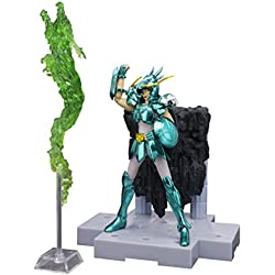 Saint Seiya Myth Cloth - Shiryu armadura de dragón, Rising dragón punch, figura, 10 cm (Bandai BDISS079163)
