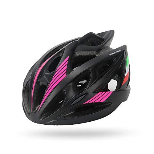 QYWSJ Fahrradhelm, Ce-Zertifiziert, Spezialisierter Fahrrad-Fahrradhelm Super Light Integral, Liner-Ski Und Snowboard, Verstellbarer Atmungsaktiver Helm FüR MäNner,...