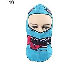 WFZ17 Halloween Ghost - Bufanda de esquí para Mujer y Hombre, Color 16#, tamaño Talla única