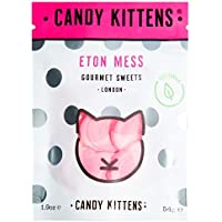 Candy Kittens Eton Mess Vegetarian Sweets - Palm Oil Free, Natural Fruit Flavour Candy - Gummy Chewy Gourmet Sweets, 54g…