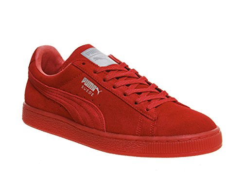 PUMA Suede Classic Mono Ref Iced Sneaker Rouge 362101 05 Rouge