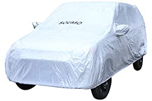 Amazon Brand - Solimo Maruti Alto Water Resistant Car Cover (Silver)