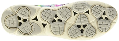 Geox D Nebula A, Scarpe Low-Top Donna Multicolore