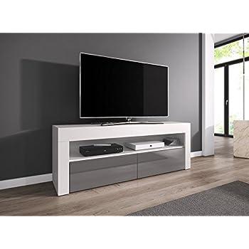 TV-Element TV Schrank TV-Ständer Entertainment Lowboard LUNA 140 cm ...