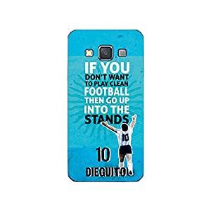 ezyPRNT Back Skin Sticker for Samsung Galaxy A3 Diego Maradona Football Player