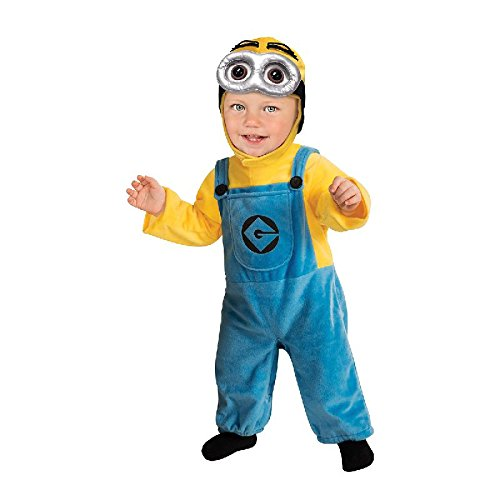 Rubie's Ich unverbesserlich 2 Kinder Kostüm Minion Dave Gr.6-12 Monate (Minion Dave Kinder Kostüm)
