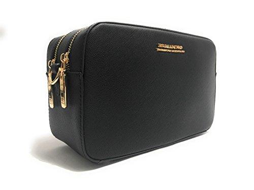 ermanno-scervino-damen-henkeltasche-schwarz-schwarz