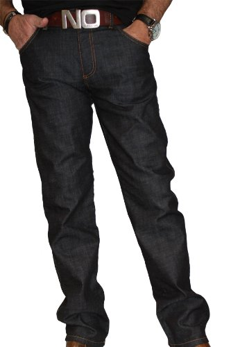 ALBERTO Authentic Denim Jeans Modell Pipe 30er bis 36er Länge Blue Denim