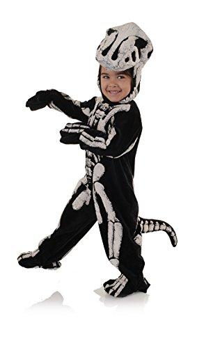 T-Rex Dinosaurier Fossil Kostüm Kinder Gr. 104/122 ()
