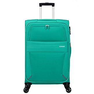 American-Tourister-Summer-Voyager-Spinner-Erweiterbar-33-kg-Koffer-68-cm-675-L-Peacock-Green