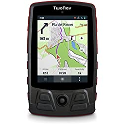 TwoNav Trail Bike (Rojo) - GPS Full Connect para Ciclismo de Montaña
