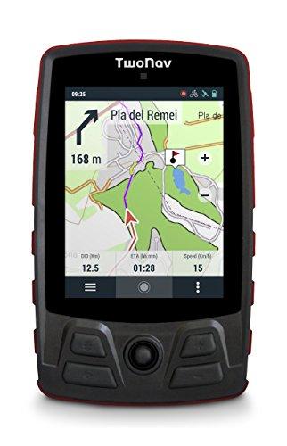 TwoNav Trail Bike Rojo - GPS Full Connect Ciclismo