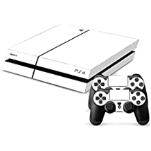 Sony PS4 Playstation 4 Skin Design Foils Pegatina Set - White Pure Motivo