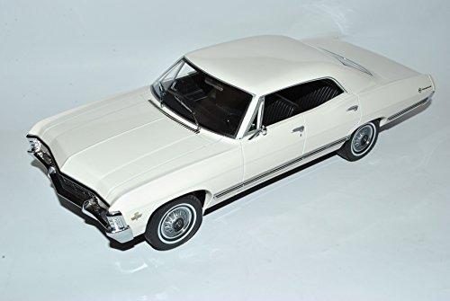 Greenlight Chevrolet Impala Sport Sedan Limousine Weiss 1965-1970 1/18 Modell Auto