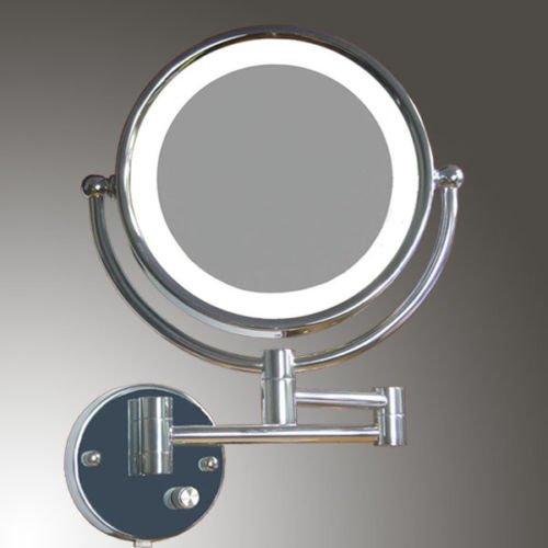 Succsale- Wandspiegel-Beweglich Luxusspiegel - LED Kosmetikspiegel - Badspiegel - Hotelspiegel 7...