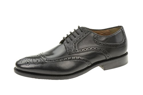 Gordon & Bros Francesco S500318 - Francesina da uomo, in pelle Black