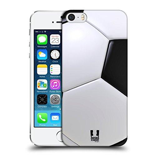 Head Case Designs Calcio Palle da Collezione Cover Dura per Parte Posteriore Compatibile con iPhone 5 iPhone 5s iPhone SE