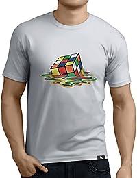 Tuning Camisetas - Camiseta divertida para Hombre - Modelo cuboderubik
