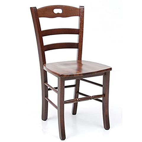 Rustic Chair, Solid Wood, Colour Walnut, For Home Or Restaurant, Minimum Order of 2