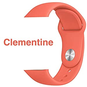 Armband für Apple Watch in Clementine 38/40mm passend für Apple Watch 1 2 3 4 5