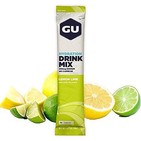 GU Lemon Lime Hydration Sports Drink Mix by GU