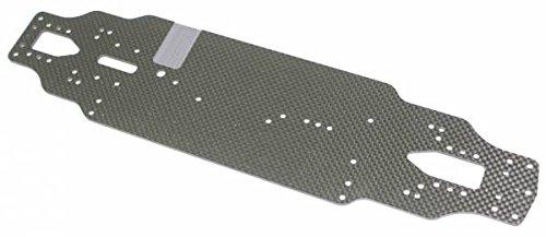 TEAM C Chassisplatte style fibre de carbone