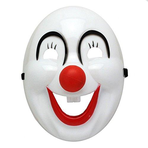 Kinder Batman Clown Masken für Halloween Fasching Karneval Kostüme gruselige Horrormasken mit Gummiband - Gesichtsmaske für Jungen und Mädchen