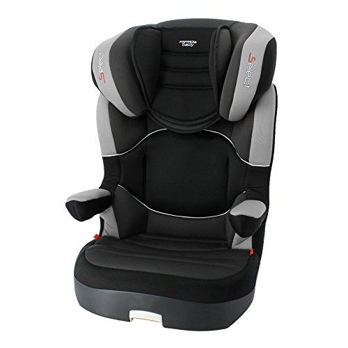 Formula Baby siège auto groupe 2/3 (15-36kg) pour enfant de 3 à 10 ans environ coloris select black